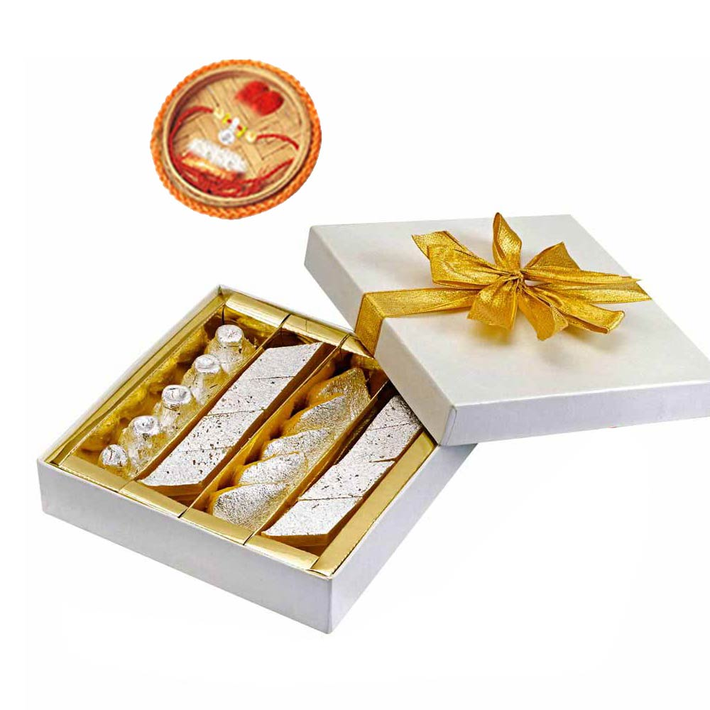 Rakhi Gifts to India, Assorted Tiranga & Rakhi